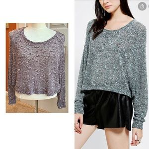 UO Sparkle and Fade sweater